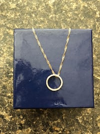Two gold pendant necklace obo  Barrie, L4M 1B1