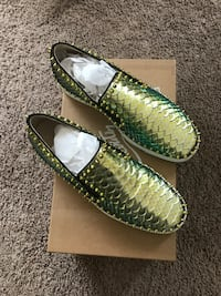 Green (Low) Snakeskin Christian Louboutins Size 10 US | 43 EU (Box and Dust Bag included) Snellville, 30039