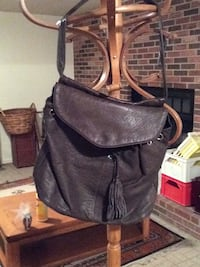 black leather 2-way bag Hyattsville, 20782