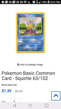 Yellow and Blue Pokemon trading card Boise, 83709