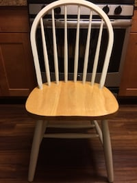 white and brown wooden windsor chair Falls Church, 22042