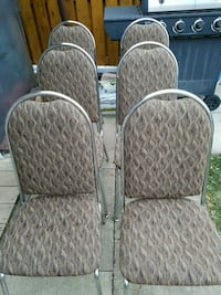 DINNING ROOM CHAIRS... NO RIPS OR STAINS OR FADE 554 km