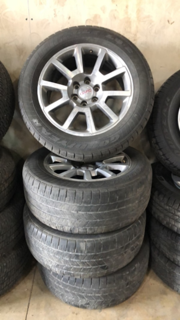 Used 20 Gmc Snowflake Oem Wheels Goodyear Eagle Ls2 Tires For