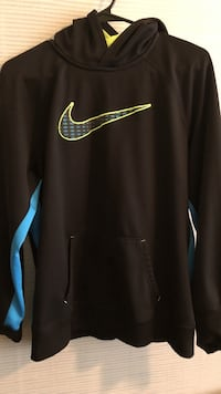black and blue Nike pullover hoodie Odessa, 79762
