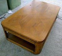 """Solid, Heavy, 2-Level Coffee Table 50""""Lx30""""Wx15""""H"""