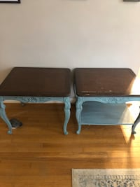 2 matching Chalk Painted Side tables Silver Spring, 20902