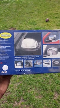 Putco side mirror covers 1998 Ford Expedition