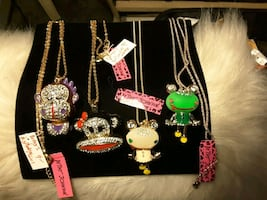 Some Fun by BetseyJohnson Necklaces 10$ea