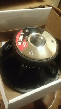 """New 15"""" Peavey Lo Max Black Widow Subwoofer Schenectady, 12304"""