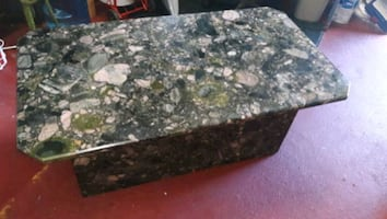 Granite coffee table top and base