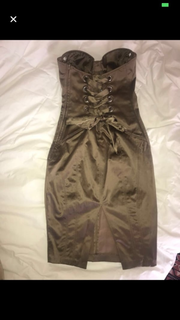 Guess by Marciano Satin Dress 44d7d633-7ae0-4dfb-b81c-a89dc998f6a1