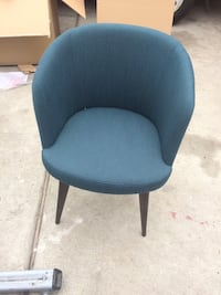 blue and black rolling chair Los Angeles, 90044