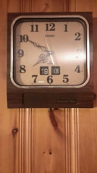 brown Citizen wall clock Gatineau, J8P 3K7