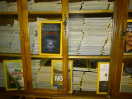 encyclopedia and national geographic very popular collection of books