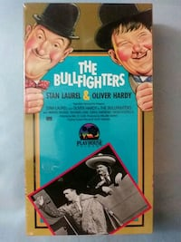 The Bullfighters vhs