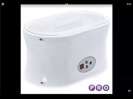 Spa Salon Hair Removal Hot Paraffin Wax Warmer Machine........ CHECK O