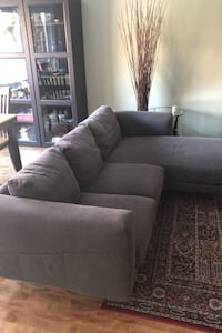 IKEA couch with chaise for sale!  Pickering, L1W 3K4