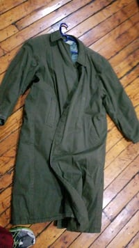 1980s German made winter trench coat