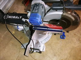 Kobalt 12 in 15 amp dual bevel sliding miter saw
