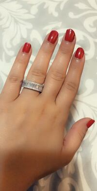 925 Sterling Silver Wedding Band Ring NEW - Size 7, 8