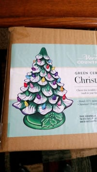 Ceramic Christmas Tree (Never taken out of box)
