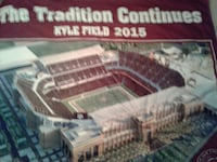 A&M blanket large. Kyle field 2015 Bryan, 77801