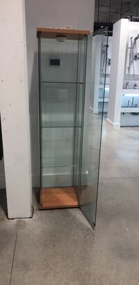 stainless steel framed glass display cabinet Toronto, M6B 1W6