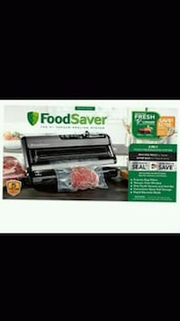 FoodSaver system and 6 rolls of heat-seal bags Las Vegas, 89122