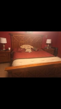 white and brown bed set Buford, 30518