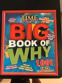 The Big Book Of Why 1001 facts about everything  Ashburn, 20148