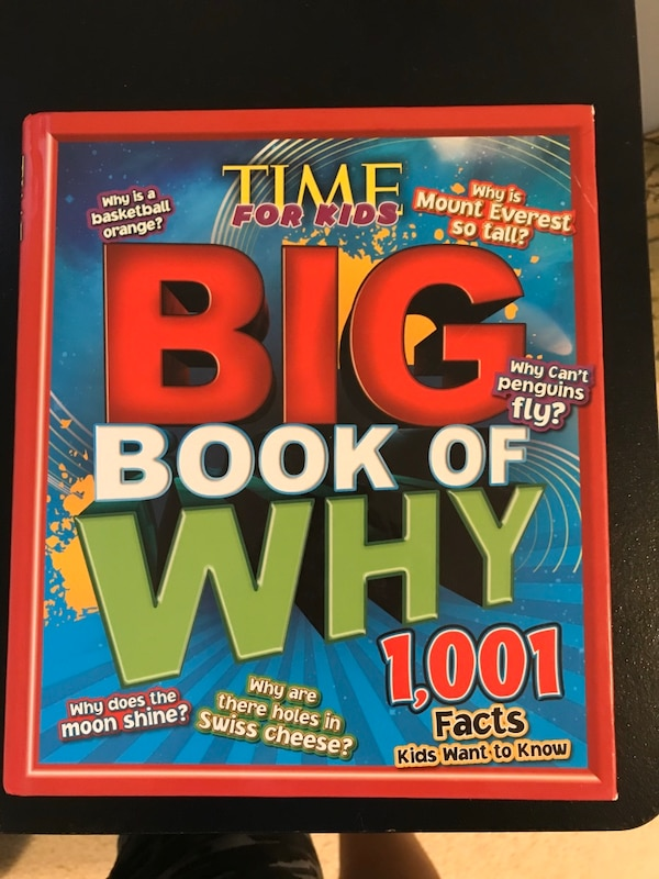 The Big Book Of Why 1001 facts about everything