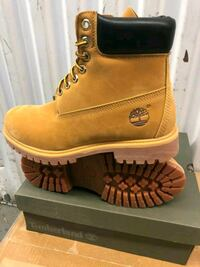 pair of brown Timberland work boots Chicago, 60649