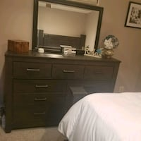 Ashley Home Queen Bedroom set (dresser and Bed Frame only) Frederick, 21701