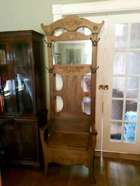 Vintage Oak Hall Tree  Stayner, L0M 1S0