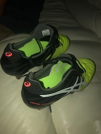 pair of black-and-green Nike running shoes North Epping, 2121