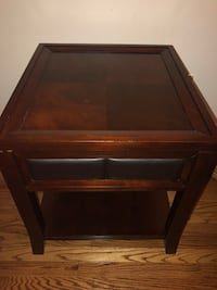 Set of project end tables