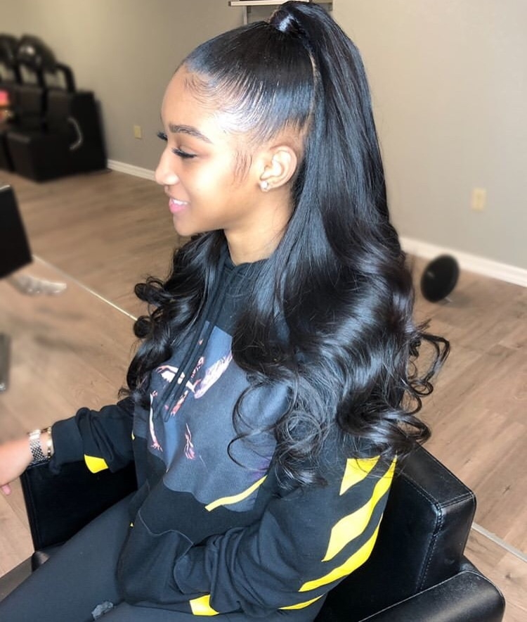 Half Up Half Down Quick weaves and Sewins $76