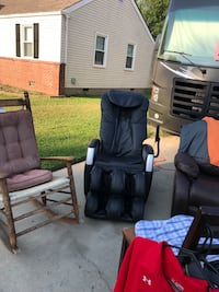 Massage chair make offer want sold today Hampton, 23666