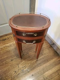 End table small table drawer desk