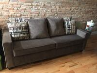 gray fabric 2-seat sofa Laurel, 20708