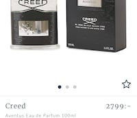 Parfum Creed Aventus 100ml Stockholm, 116 34