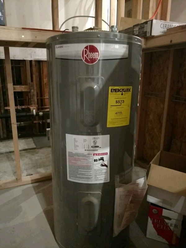 Used Rheem Electrical Water Heater For Sale In San Francisco Letgo
