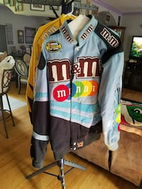 two blue and yellow M and M's racing jackets Hollywood, 20636