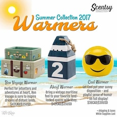 Summer Collection 2017 Warmers