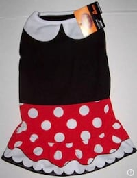 REDUCED!! 2 Brand New w/ Tags Disney Minnie Mouse Dog/Pet Costume Shirts, Size Large or Size Extra Large, Cute!! (PLEASE READ DESCRIPTION!) Englewood, 80112