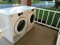 white front-load washer and dryer set Newport News, 23601