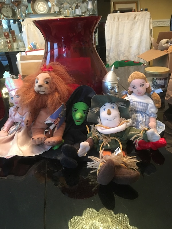 Used Set of 6 wizard of Oz vintage beanie babies for sale in ... 711971161714