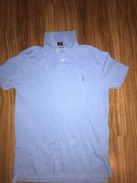 Blue Polo Collared shirt Edmonton, T5T 6S6