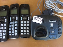 Cordless phone set