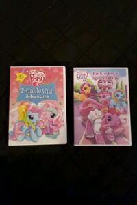 My little pony DVDs